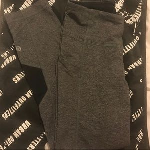 Grey Lululemon Leggings (size small)